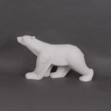 Sculptuur Polar Bear