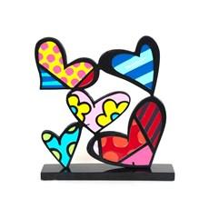 Sculptuur Hearts Romero Britto