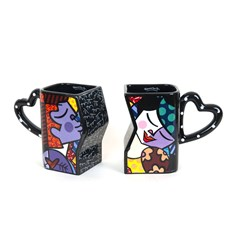 Set van 2 Love Bekers Romero Britto
