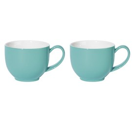 Set van 2 Theemokken Turquoise Tea
