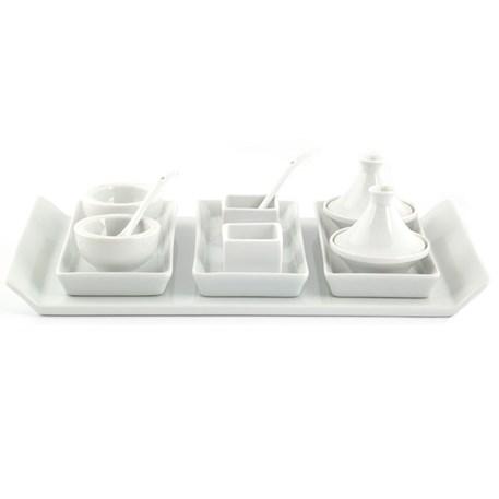 14-delige tapaset / amuseset / sushi set