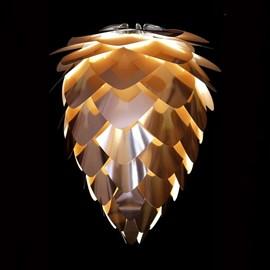 Lamp VITA Conia Mini in wit of koper