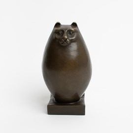 Art Deco Sculptuur Persian Cat