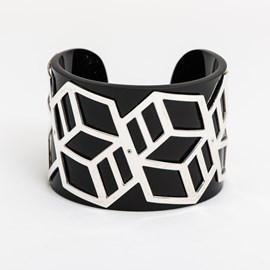 Armband Black Geo
