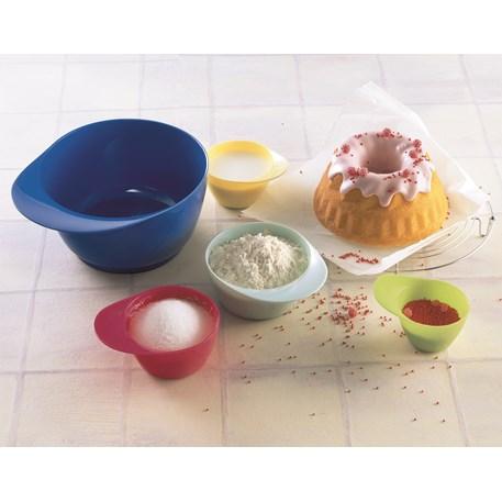 Kaiser Bake & Play Mix- & Maatkom Set van 5