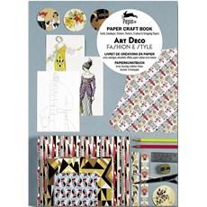 Paper Craft Book Art Deco Fashion & Style