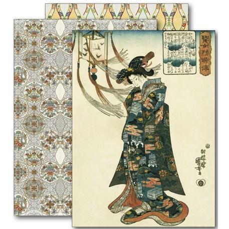 Paper Craft Book Kimono Posters & Inpakpapier