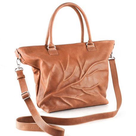 Shopper Retro Cognac