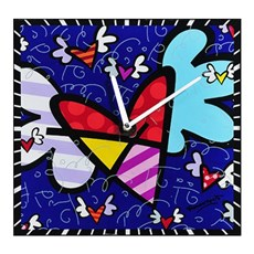 Klok Flying Heart | Romero Britto