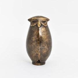 Sculptuur Mollige Uil