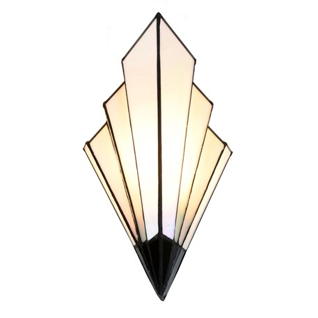 French Art Deco Tiffany Wandlamp