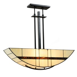 Tiffany Hanglamp Geometric