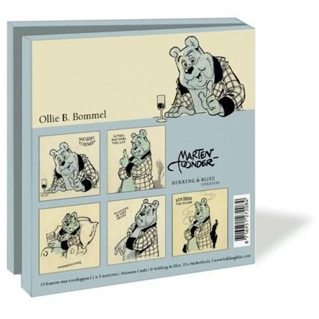 Notitieboek & Kaartenmapje | Olie B. Bommel