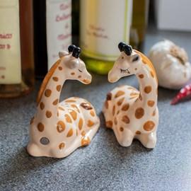 Snoezende Giraffes