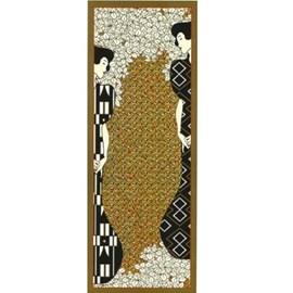 Wandkleed/Gobelin Klimt Silhouettes