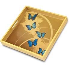 Dienblad Blue Butterfly