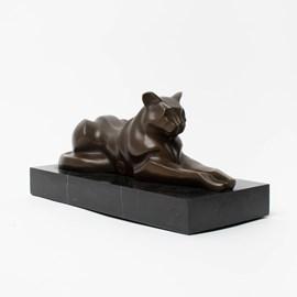 Bronzen sculptuur Feline