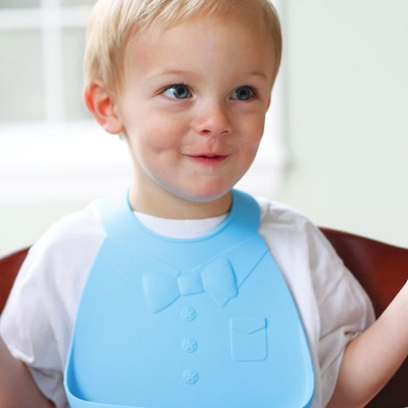 Make My Day | Baby Bib Blauw