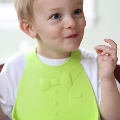 Make My Day | Baby Bib Groen