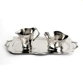 Aroma Tinnen Set voor Melk en Suiker