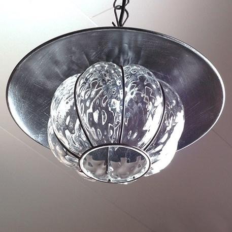 Onderaanzicht Venetiaanse Hanglamp Fontana