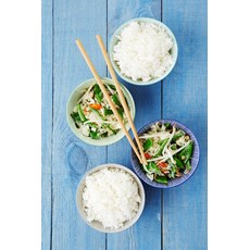 Set van 4 Rijstkommetjes Asia