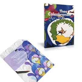 Set Boek Theo Colenbrander & Art Nouveau Colouring Book