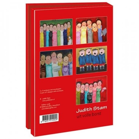 Cadeauset Uit volle borst | Judith Stam