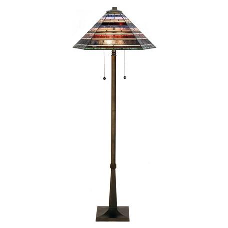 Tiffany Vloerlamp Industrial