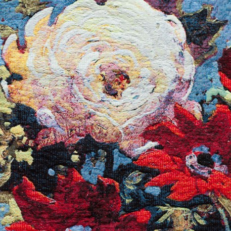 Wandkleed Bouquet