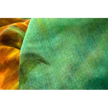 Sjaal Van Gogh 'Zonnebloemen' detail