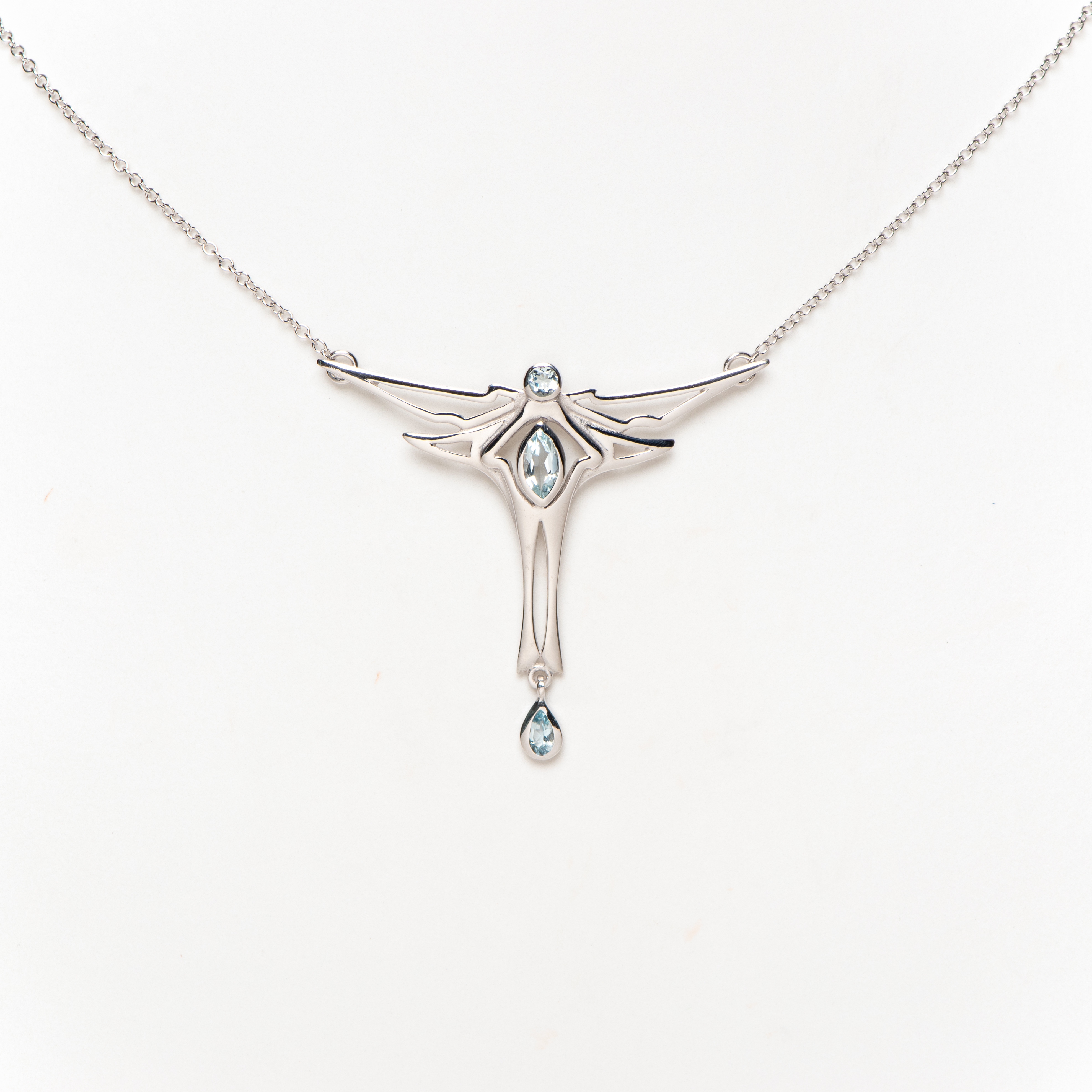 Collier Deco Dragonfly